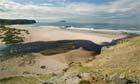 Beach at Sandwood Bay, Scotland