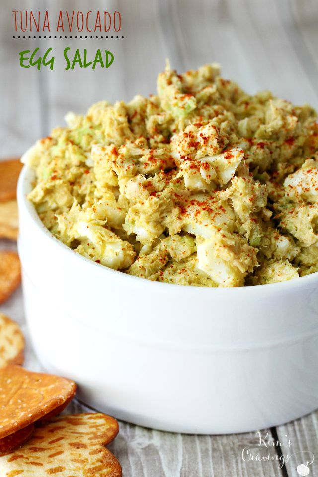 25 best ideas about avocado tuna salad on pinterest for Tuna fish salad recipe with egg