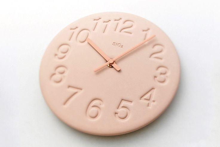 Diatomite Wall Clock
