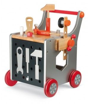 Play! Tool bench for kids. Magnetic