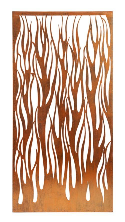 Decorative Metal Screen – Copper Fire