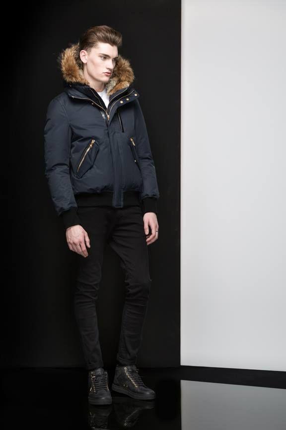 DIXON Navy - Shop it at www.mackage.com #mackage #winter #menswear #fw14