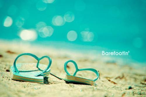 Barefootin': Sandy Beaches, Summer Beaches, Beaches Time, Flip Flops, Beaches Shoes, Cottages Life, Flip Flop, No Shoes, Beaches Cottages