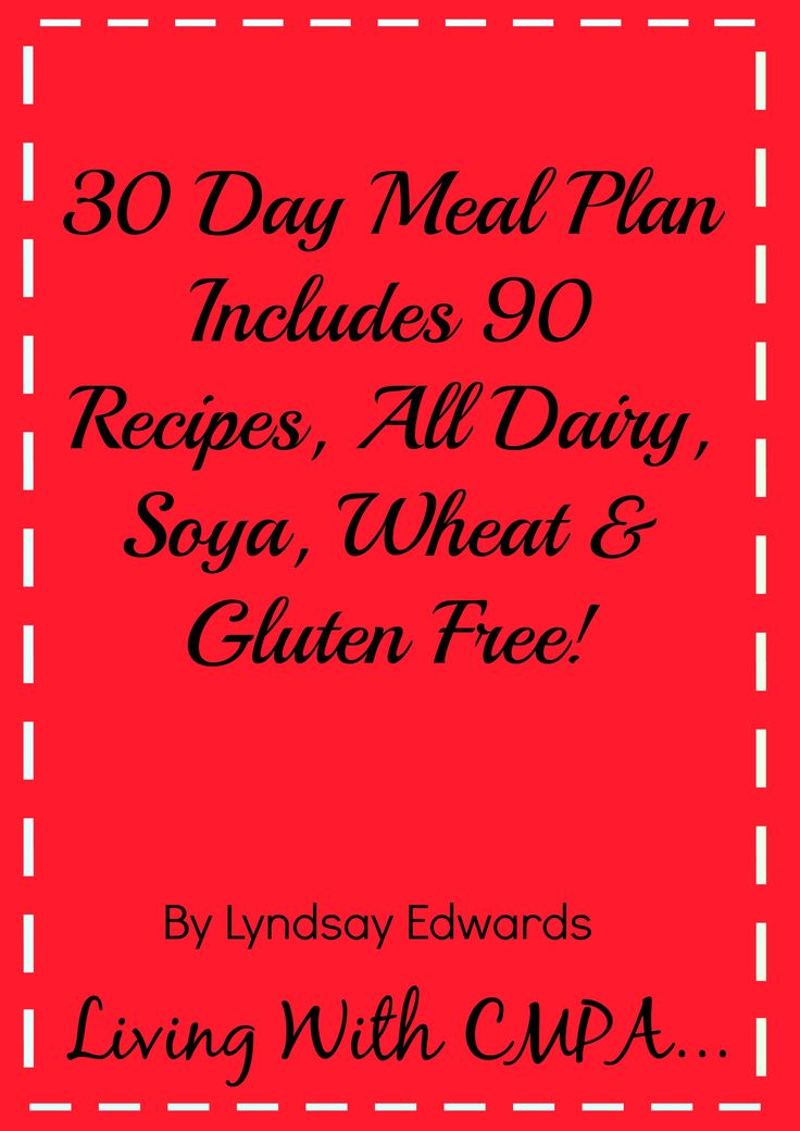 Dairy Free Recipes By Living With Cow's Milk Protein Allergy, also dairy & soya free recipes, dairy, soya & egg free recipes, dairy soya & wheat/gluten free