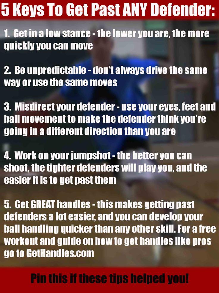 5 Keys To Get Past ANY Defender #basketball #ballislife