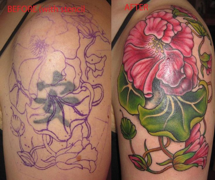 The Best Cover Up Tattoos