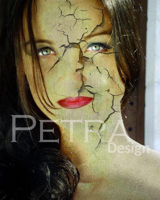 Photo Manipulation - Cracked Skin