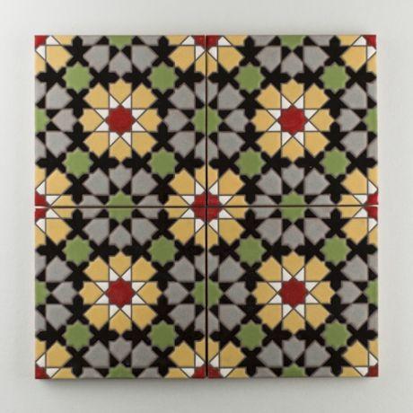 70 migliori immagini handpainted tile the moroccan for Piastrelle 8x8