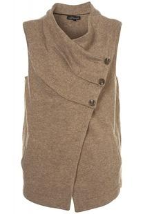 Оригинал одного нового Англии складывается свободные темные кнопки шерстяной жилет без рукавов Материал трехцветный № 200 - Taobao