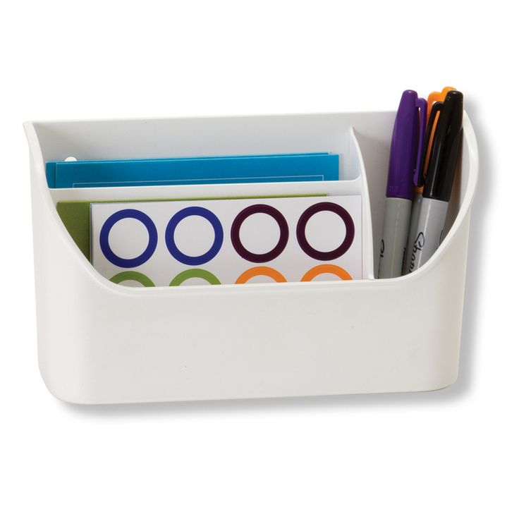 Amazon.com : Officemate Magnet Plus Magnetic Organizer, White (92550) : Office Products