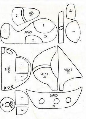 .carro barco avião
