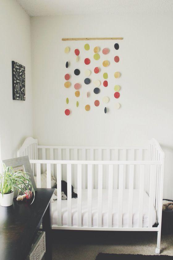 Minimalist gender neutral nursery #nursery #minimalist