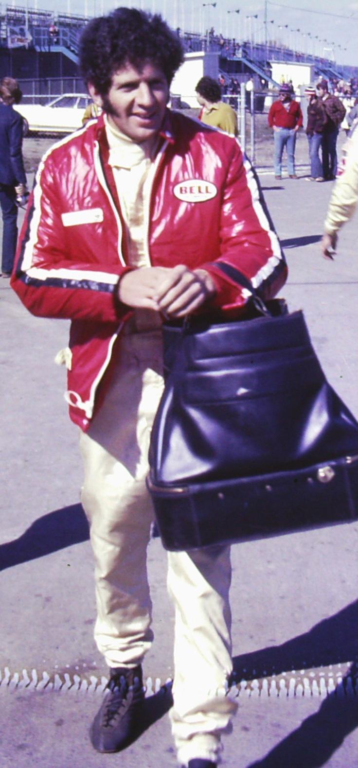 Jody Scheckter ans his handbag #Fashion