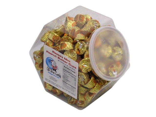 Reese's Mini Peanut Butter Cups - 4 lb Plastic Tub (200 ct)