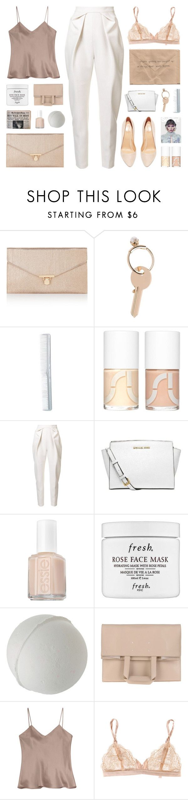 """""""Special Video { in desc. }"""" by alexis-belaruano ❤ liked on Polyvore featuring Accessorize, Maison Margiela, Uslu Airlines, Delpozo, MICHAEL Michael Kors, Essie, Fresh, Etro, STELLA McCARTNEY and Sergio Rossi"""
