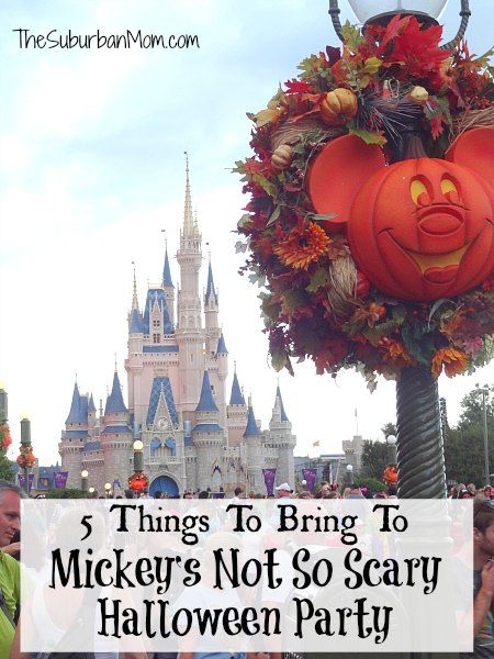 5 Things To Bring To Mickey's Not So Scary Halloween Party - Walt Disney World Magic Kingdom