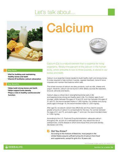 Calcium Fact Sheet