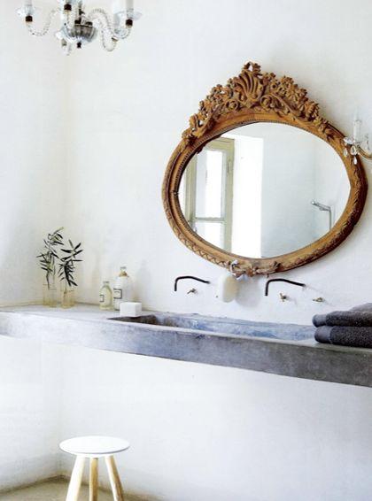 Bathroom Mirror Gold 370 best mirrors images on pinterest | baroque mirror, mirror