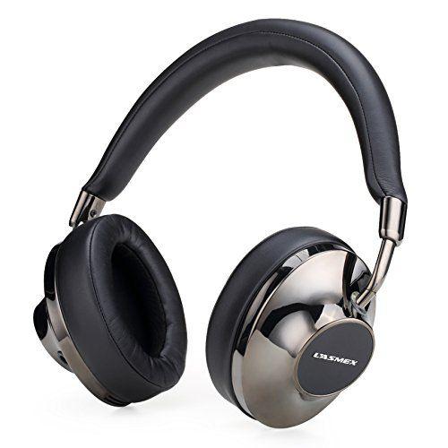 LASMEX 密閉型 ステレオヘッドホン 高音質 Hi-Fiサウンド ハイパフォーマンス ガンメタリック H120…