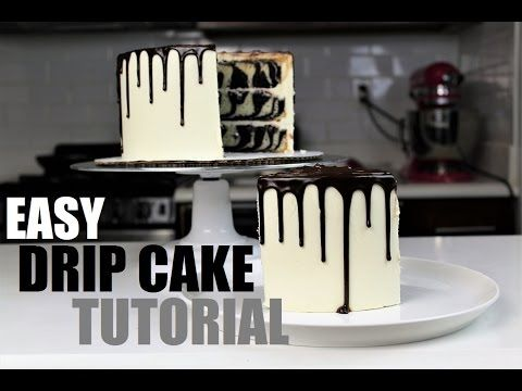 how to make a drip cake easy