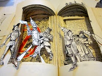 how to create Altered Pop-up Books
