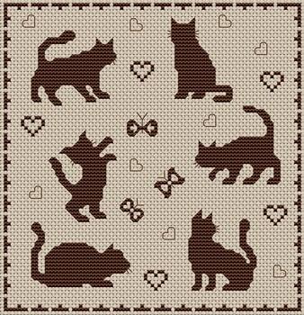 shadows - cats