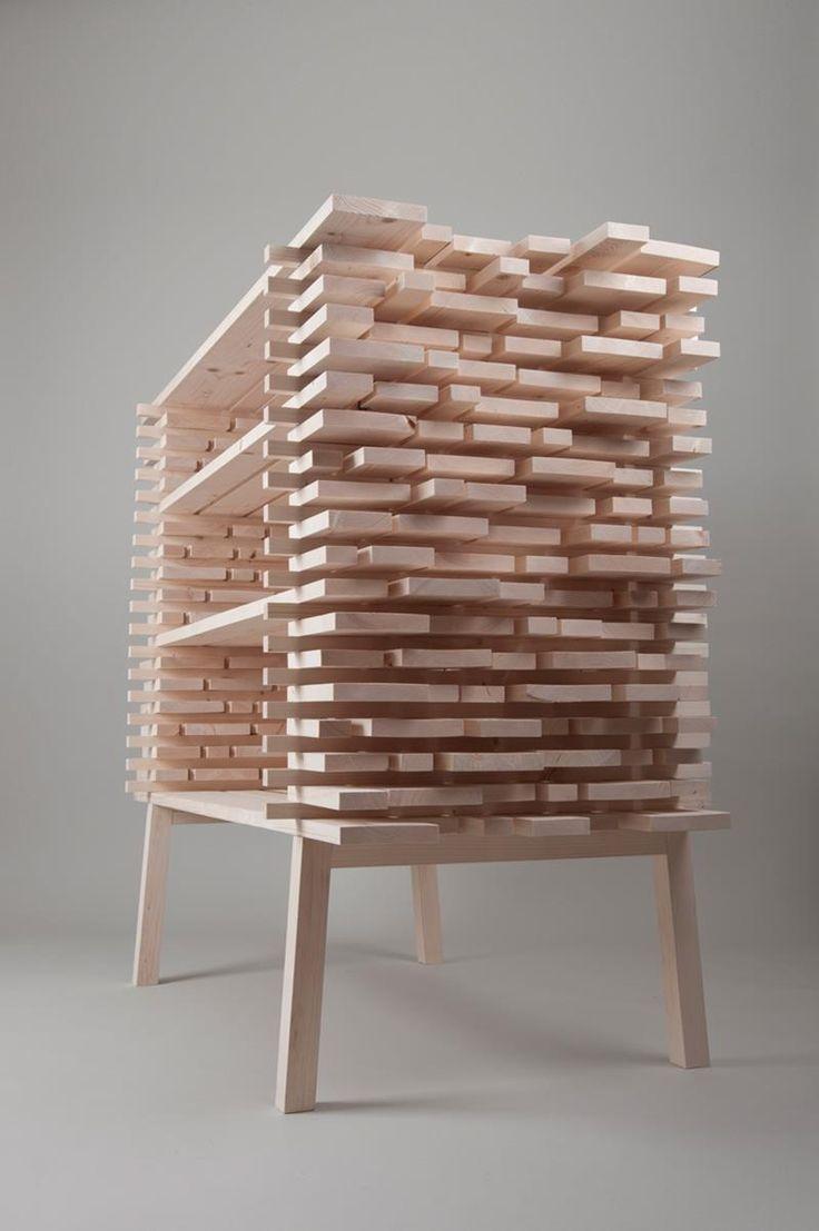 Das Slowakische Designstudio ALLT Ließ Sich Von Holz Säge  Und Lagerhallen  Inspirieren.
