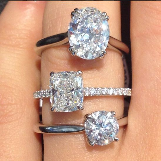 Beautiful Solitaire engagement rings are elegant and timeless TWO By London has hundreds of solitaire styles
