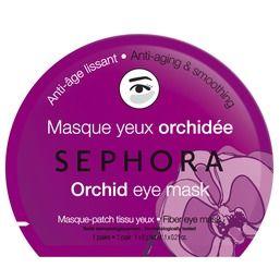 Тканевые маски для глаз Sephora (в Иль де Боте по 300 руб): - гранат (против следов усталости с тонизирующим эффектом) - зеленый чай (разглаживание и обновление)