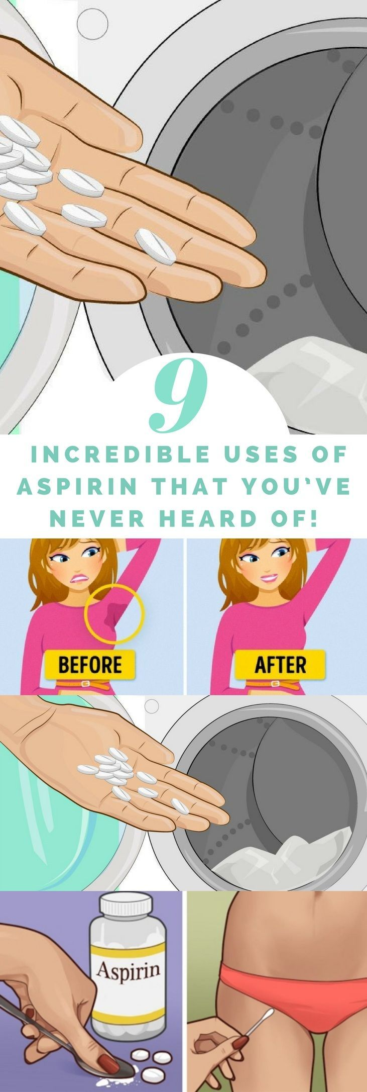 9 Incredible Uses Of Aspirin That You've Never Heard Of! – Girlstale