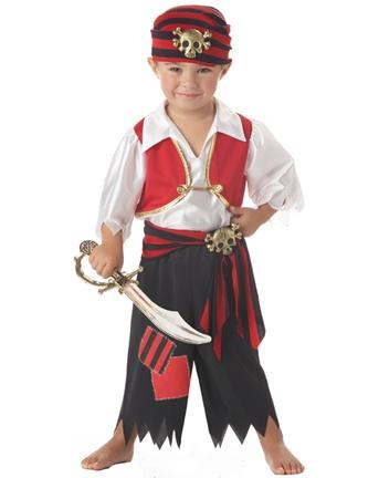 Lyam's Ahoy Matey Pirate Costume!