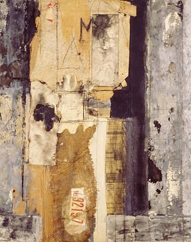justanothermasterpiece:    Mildred Hermann, Third Avenue (Collage No.3), 1975, mixed media collage on canvas, 51 x 41 inches.
