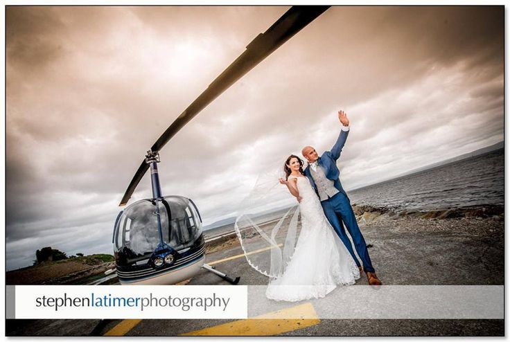 This is Danielle & Martin making a grand entrance to their wedding reception at the Redcastle Oceanfront, Golf & Spa Hotel! Congratulations to you both, stunning wedding! Photo by Stephen Latimer Photography.