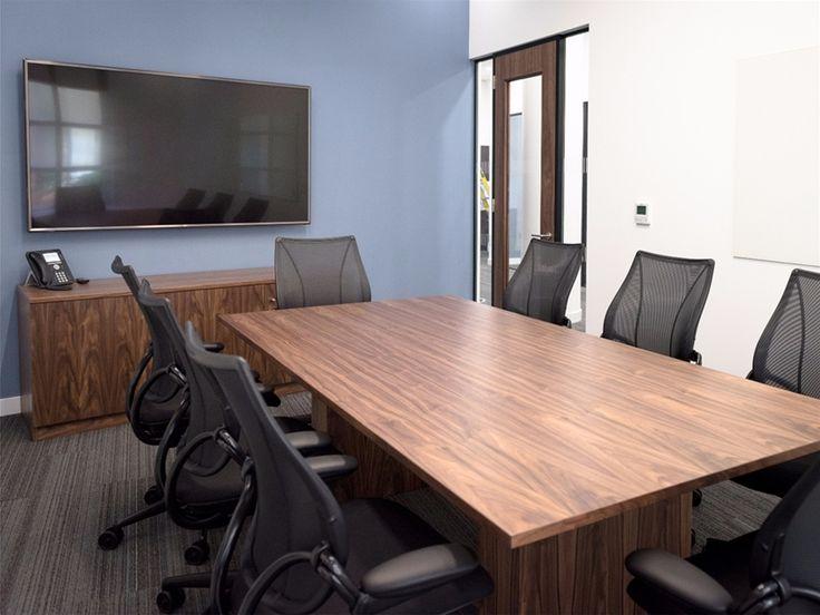 Bespoke Boardroom Table | US Bank & Brokerage Firm | Frem Group