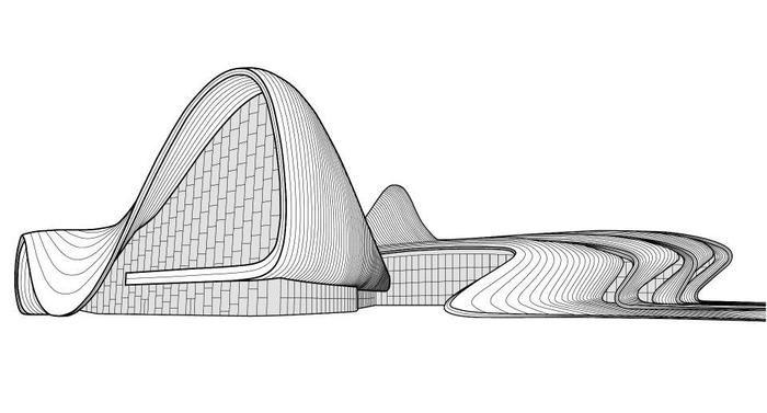 Чудо архитектуры в Баку