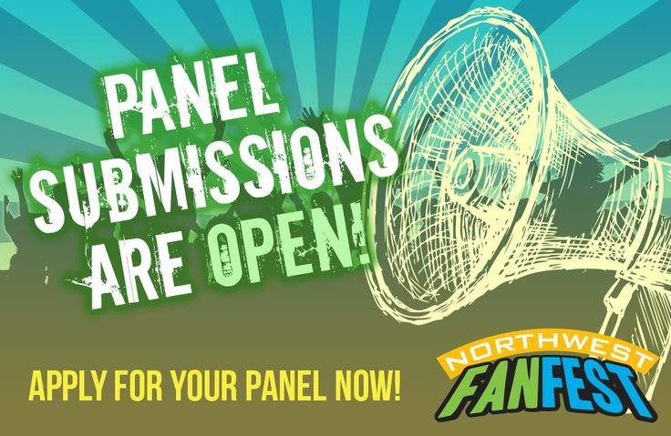 Do you have an idea for a panel, workshop, contest, or game you'd like to run at Northwest Fan Fest? If so, we want to hear it!  #nwff2014