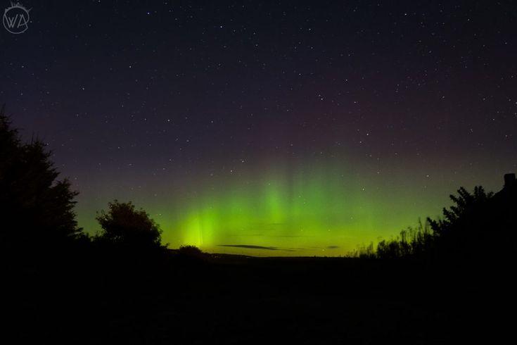 Northern lights in Scotland, Aberdeen