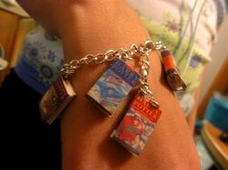 Book Charms! Love this great idea!!