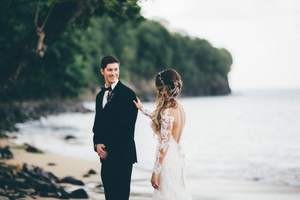 Majestic Seaside St. Lucia Wedding at Regency La Toc