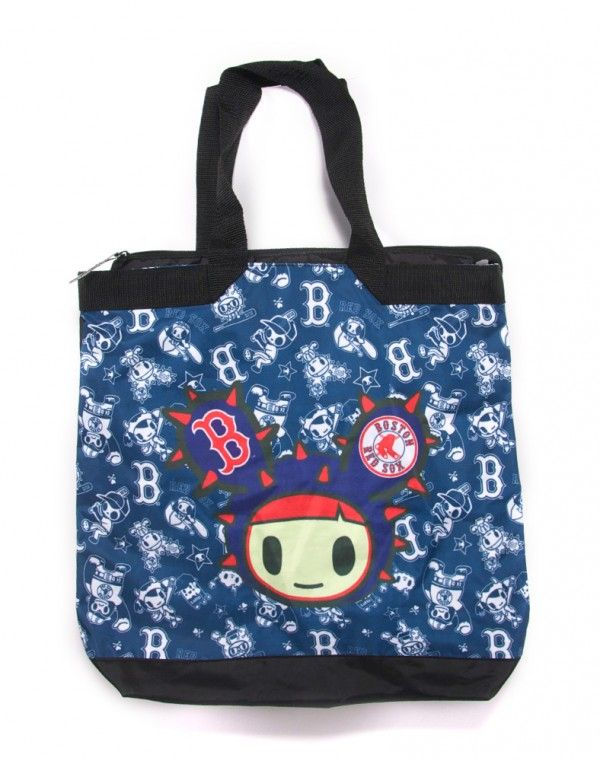 tokidoki x MLB Red Sox Tote Bag