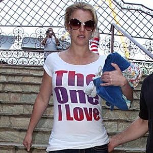 PY GEAR™: The One I Love tee shirt as worn by Britney Spears...