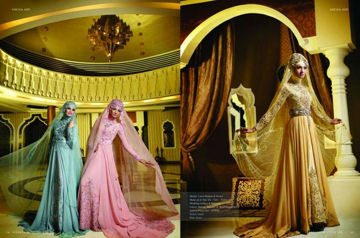 Ancha ady's muslim gown