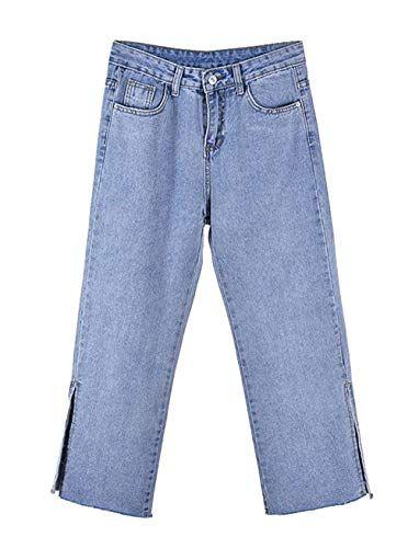 7f10f205 Vendimia Mamá Jeans Mujer Pantalones Casuales Mujeres Alta Cintura ...