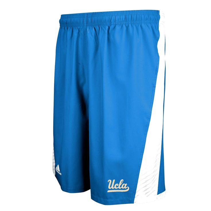 adidas UCLA Bruins Football Sideline Player Shorts - Blue - $41.79