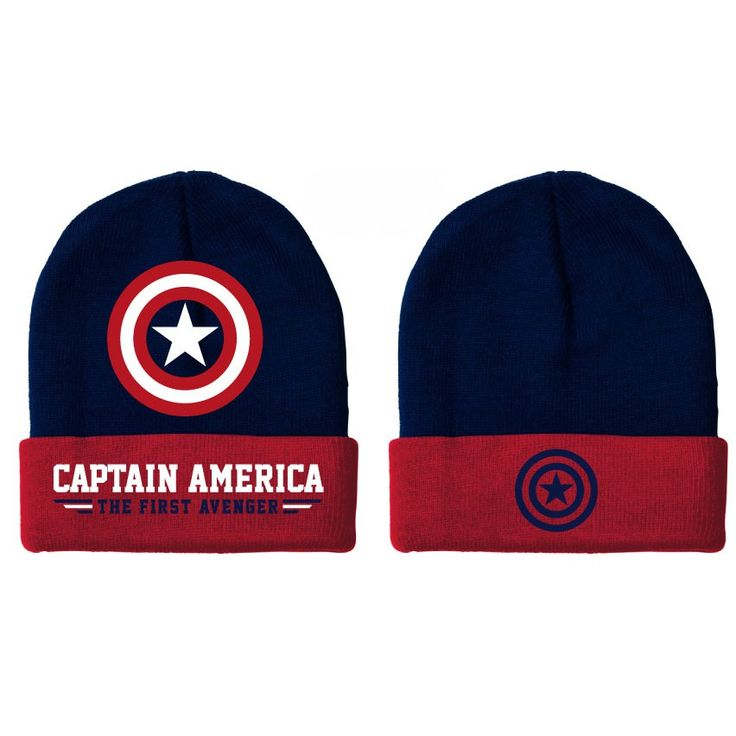 Bonnet Bleu Shield The First Avenger Captain America