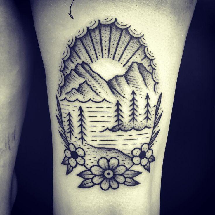 1000 ideas about mountain tattoos on pinterest tattoos for Blue ridge mountain tattoo