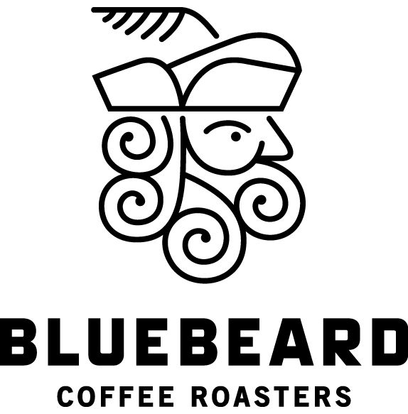 Bluebeard Coffee Roasters, Tacoma, WA (design by Partly Sunny, Seattle)