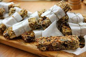 Kuchnia w wersji light: Baton musli - bez mąki i cukru