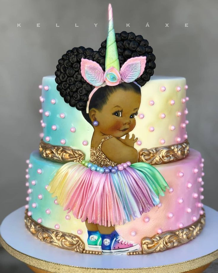 Детские картинки на тортах фото
