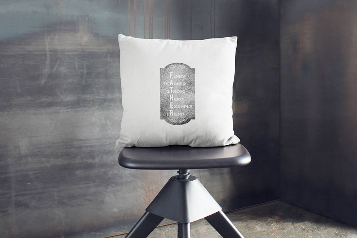 Handprinted Quote pillow with a message that shows your love and apreciation for your dad. Original gift that can be personalized with names..., for Grand parents day, Fathers day, Birthdays, Christmas ... designed and hand printed on fabric by My Home and Yours. Worldwide shipping!